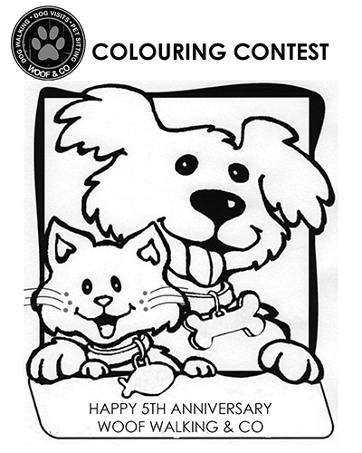 5 Year Anniversary Colouring Contest