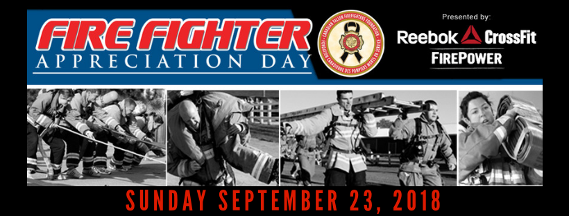 FireFighter Appreciation Day 2018